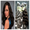 Health human hair weave natural wave 100g/pcs