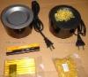Heat Melting Pot,Fusion Glue keratin Box
