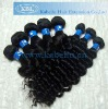 High quality Deep wave remy human hair extension