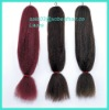 High quality expression hair extension synthetic braids hair in differernt colors
