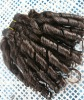 High quality weft Peruvian hair extension