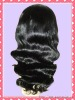 Highest quality body wave 1# color hair weave