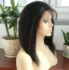 Highlight Kinky Straight Chinese Human Hair Lace Wigs