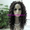 Hight resistant synthetic hair lace front wig accept paypal