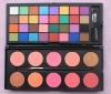 Hot 42 Color Double Stack Matte Eyeshadow & Blush Palette