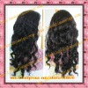 Hot sale 100% indian remy hair body curl lace front wig in stock