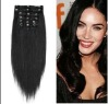 Hot sale 6pcs/set malaysian clip on hair