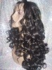 Hot sale!beautiful Brazilian remy hair glueless silk top full lace wigs baby hairs