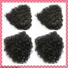 Hot sale curly human hair extension