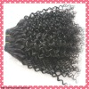 Hot sale curly virgin Brazilian hair extension
