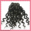 Hot sale spiral curl virgin human hair extension