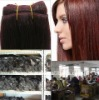 Hot sale top quality human hair weft wholesale/Competitive price/OEM order