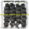 Hot sell indian human hair natural wave 100 gram
