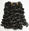 Hot selling 10'' 1# super wave 100% virgin India remy hair weft accept paypal