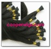 Hot selling in 2011 Fashion style straight U tip hair extension/ pre-bonded Keratin hair extension Popular in EU and USA