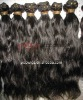 Hot selling indian natural curl hair wefts