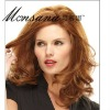 Hot selling long and brown kinky curl human hair full lace wig for ladies