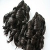 Hot selling virgin brazilian human hair extensions machine made wefts