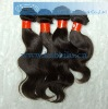 Hot wholesale 100% India virgin remy hair wavy with factory price