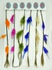 Hotsale for Christmas colorful feather hair FH-3000