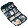 Household Essentials 06910 Ten Pocket Hanging Cosmetics/Grooming Bag, Black