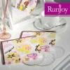 Hydrangea ( pink ) design table serviettes