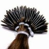 I-tip pre-bonded hair extension European remy virgin hair