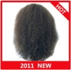 In Stock!!Afro Curl Indian Remy hair full lace wig paypal available