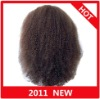 In Stock!!Afro Curly Indian Remy hair full lace wig paypal available