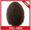 In Stock!!Afro Kinky curly Indian Remy hair full lace wig paypal available