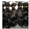 "Indian Virgin Remy Hair Weft Wave 22"" Indian Remy Hair Weaving"