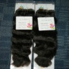 Indian hair weave natural wave100g/pcs