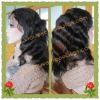 Indian remy hair body wave full lace wigs