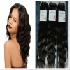 It can be dyed brazilian human hair natural wave