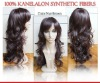 Kanekalon Wigs  Nut-Brown