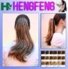 Kanekalon fiber synthetic ponytail clip claw