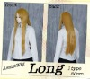 LONG CURLY YELLOW HAIR WIGS - COSPLAY HAIR WIGS