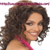 Lady's curly indian full lace wig