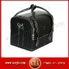 Leather beauty box vanity case