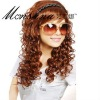 Long deep wave synthetic wig for fashion ladies