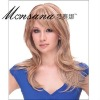 Long kinky curl synthetic wigs for charming ladies
