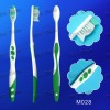 (M028) adult toothbrush with anti-slip handle