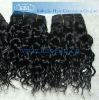 Machine made virgin indian remy hair weft with factory price