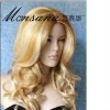 Made in China synthetic hair gull lace wig