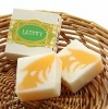 Manual transparent soap