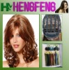 Medium hair wigs brown curly fashion wigs for ladies