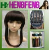 Medium hair wigs dark brown synthetic regular ladies wigs