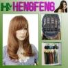 Medium hair wigs light brown regular wigs hair