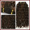 Mini Wavy Brown Human Hair Weft