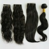 Mix texture super quality peruvian hair weft from peru